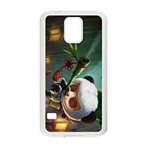Samsung Galaxy S5 Cell Phone Case White League of Legends Panda Teemo GYV9401350