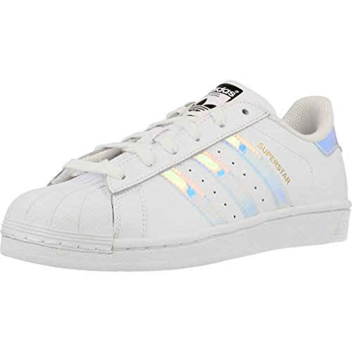 adidas FTWWHT Unisex Superstar Top FTWWHT METSIL J Low Kinder fvfgrC