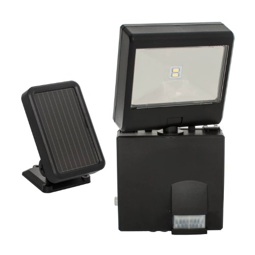 Maxsa Black Solar Powered Flood Light in US - 7
