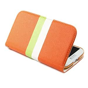 Bloutina ivencase Rainbow Wallet Stand Leather with Credit Card Holder Case Cover for Samsung Galaxy S4 S IV i9500 -4 +...