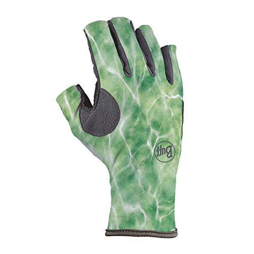 - Buff Pro Series Angler 3 Gloves, Bug Slinger Water Camo Green, Large/X-Large
