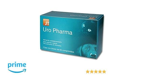 JTPharma Uro Pharma - Alimento Complementario para Mascotas, 60 ...