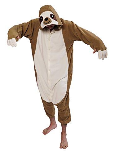 Sloth Kigurumi Onesie Costume (Adults XL)]()