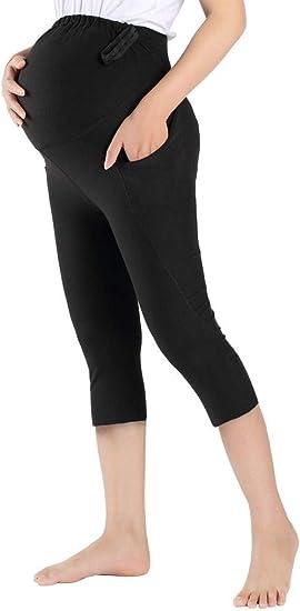 pantaloni da donna con taglio a stivale elasticizzati da lavoro Foucome da ufficio