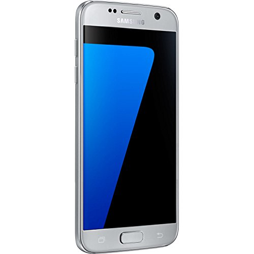 Samsung Galaxy S7 G930F 32GB Unlocked GSM 4G LTE Smartphone w/ 12MP Camera - Silver (Renewed) ()