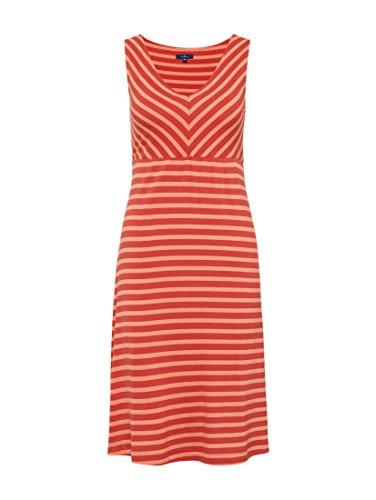 Und Donna Tom Red Vestito Sommerliches Mit Tailor Streifenkleid Baked Apple Rundhals Ärmellos xwBC4XqTw