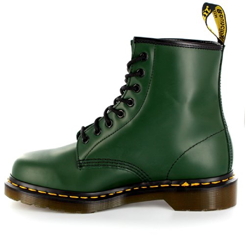 Men's Union Jack 8 Dr Martens Green Boots Eye xBvXnqa