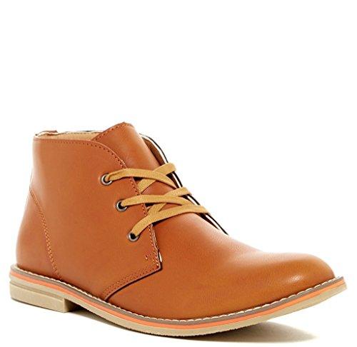 Giraldi Morrist Mens Mode Chukka Boots Konjak