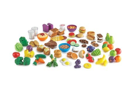 Learning Resources New Sprouts 100pcs. Classroom Play Food