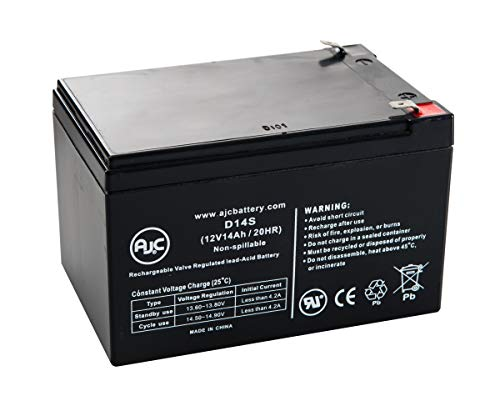 City Bug Helper Scooter 12V 14Ah Scooter Battery - This is an AJC Brand Replacement