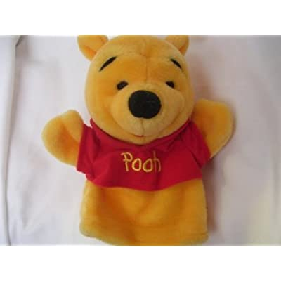 5Star-TD Disney Winnie The Pooh Plush Hand Puppet: Toys & Games