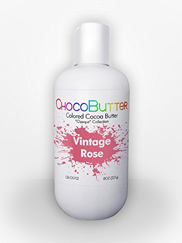 Vintage Rose - Colored Cocoa Butter