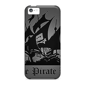 Iphone 5c RvFEJDf7615rviCr The Pirate Bay Tpu Silicone Gel Case Cover. Fits Iphone 5c