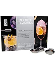 Molecule-R - Gin & Tonic Molecular Mixology Kit + Presentation Spoons - GIN & TONIC R-EVOLUTION