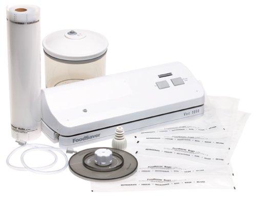 amazon com foodsaver vac 1050 vacuum sealing kit white vacuum rh amazon com FoodSaver Coupons FoodSaver Coupons