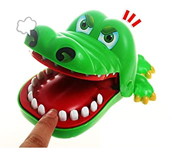 Kinderspiel Krokodil Zähne