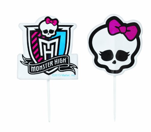 Wilton 2113-6677 Monster High Fun Pix Decorative Cake Topper]()