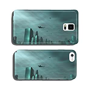 city a€?a€?submerged in the sea cell phone cover case iPhone6 Plus
