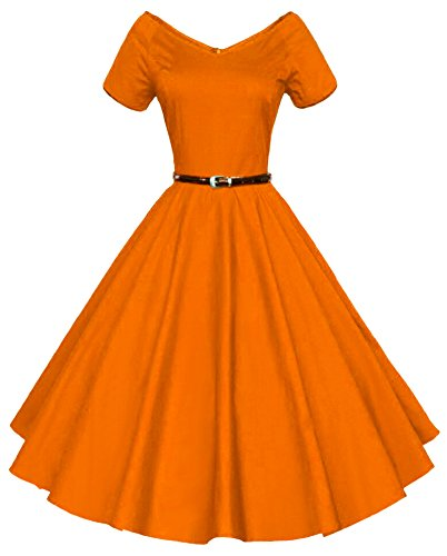 buy 1950s cocktail dress - 9