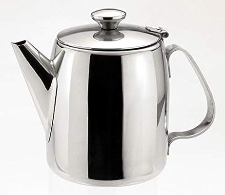 Sunnex 1 litro (900 gr) Acero Inoxidable cafetera/Tetera: Amazon ...