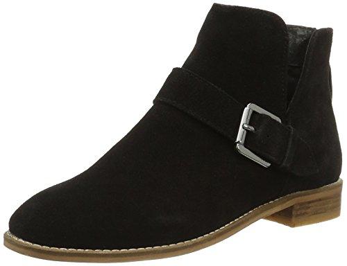 Stivaletti V Boot 27 Suede Donna Bianco 49263 Nero black cut pYwqSdpxa