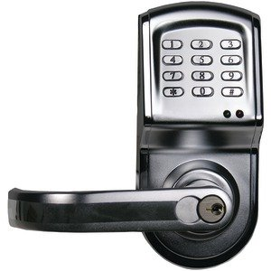 Linear 212LS-C26DCR-LT Electronic Access Control Cylindrical Lockset, Left Hand Opening (Stainless ()