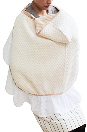 Sweet Mommy Maternity and Nursing 3-in-1 Cotton Baby Cover Brown, F by Sweet Mommy (Image #8)