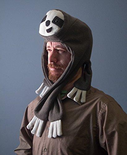 (Handmade Fleece Sloth Hat Various)