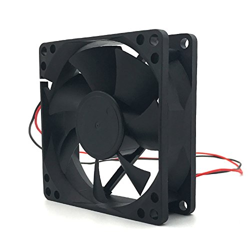 D80SH-12C 12V 0.21A 8020 8CM 2 wire power supply cabinet cooling fan by Sungee (Image #7)