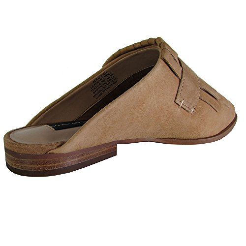 Steven By Steve Madden Women Adee Slide Shoes Camel Suede