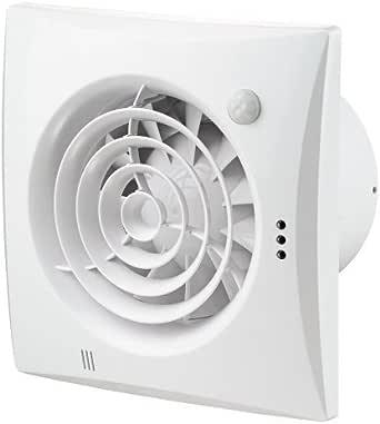 Escape silencioso ventilador con detector de movimiento - no solo ...