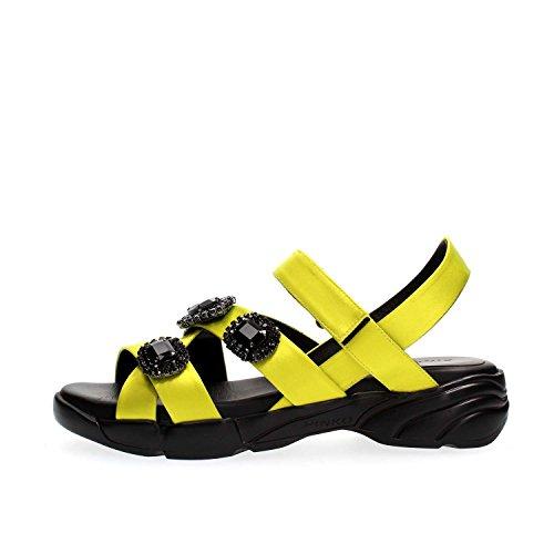 Sandales Femme Uva Pinko des Giallo qUEtf