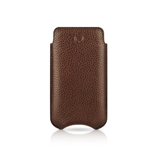 Beyza Leather SlimLine Classic Pouch Case for iPhone 4 / 4S