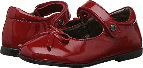 Naturino Baby Girl's 4524 AW17 (Toddler) Red 19 M (Naturino Red Shoes)