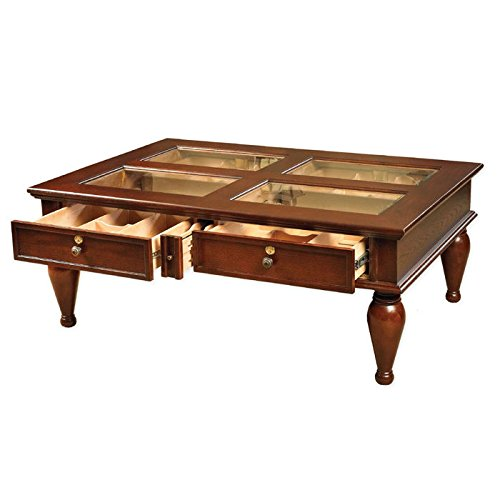 Quality Importers Trading Coffee Table Humidor by Quality Importers Trading