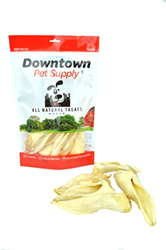 Downtown Pet Supply All Natural Lamb Ears for Dogs, Healthier Dog Training Chew Treats Than Pig Ears and Rawhide - High Protein Treats for Dogs -
