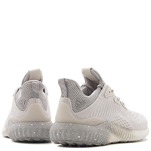 Adidas Originali Mens Alphabounce 1 Campione In Carica M Scarpa Da Corsa Gesso Bianco / Grigio Due / Gesso Bianco