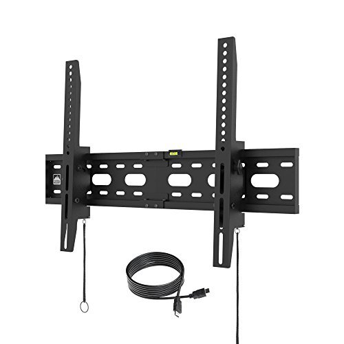 "Electronics : 【2019】 Fortress Mount TV Wall Mount for Most 40-75"" TVs up to 165 lbs and 9-feet HDMI Cable"