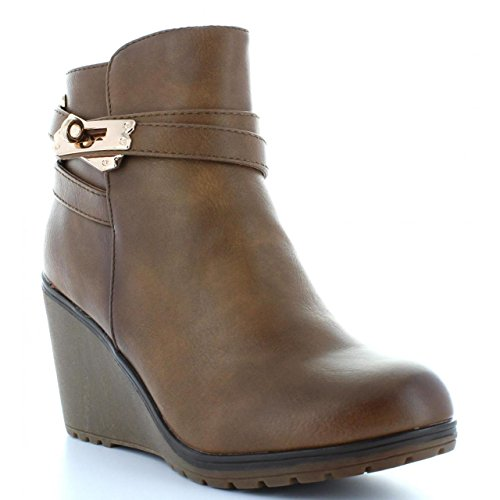 XTI C 28720 TAUPE de Botines Mujer ExqwfHFx