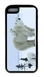 Distinct Waterproof Snow Bear Design Your Own iPhone 5c Case