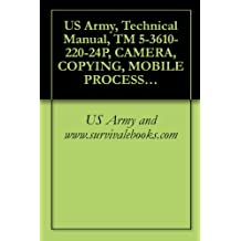 US Army, Technical Manual, TM 5-3610-220-24P, CAMERA, COPYING, MOBILE PROCESS, 208 V, 60 HZ, 24X30-INCH (CONSOLIDATED INTERNATIONAL MODEL 1969) (FSN 3610-400-7588) (24X MICROFICHE),