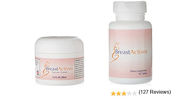 Breast Actives 1 Kit Breast Enhancement Kit By Breast Gain Plus 1