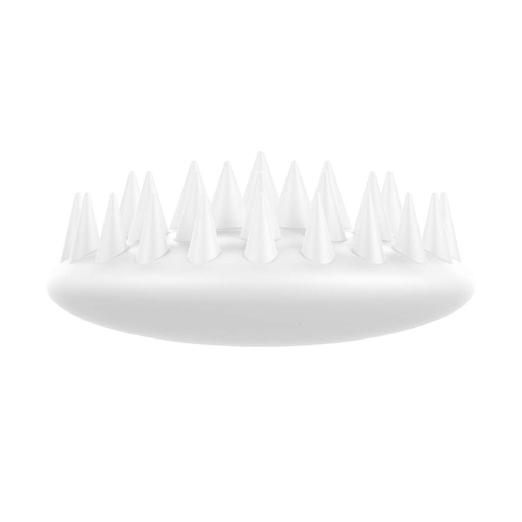 White Grooming brsuh,Grooming Tools for cat,3D Floating Brush Head and Massage for pet (color   White)