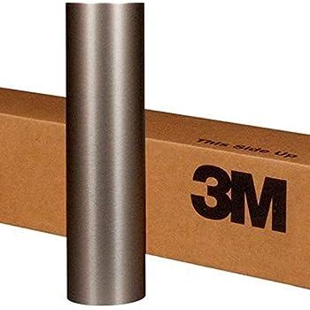 3M 1080 BR230 Brushed Titanium 3in x 5in (Sample Size) Car Wrap Vinyl Film