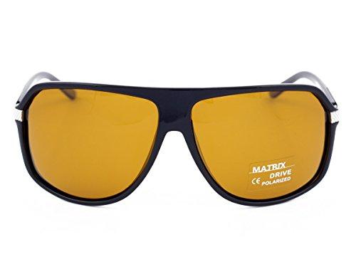 Noir Noir Drive Matrix Homme Medium soleil de Lunettes U1xwq7R