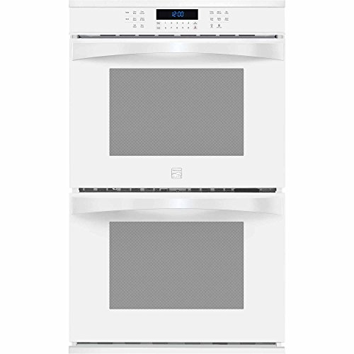 Kenmore Elite 48452 30″ Electric Double Wall Oven with True Convection in White, includes delivery and hookup (Available in select cities only)