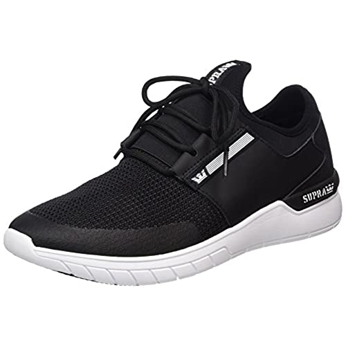 Mens Flow Run Trainers, White, D(M) US Supra