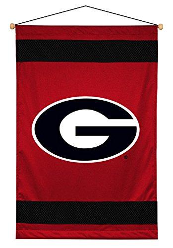 Sports Coverage NCAA Georgia Bulldogs Sideline Wall Hanging