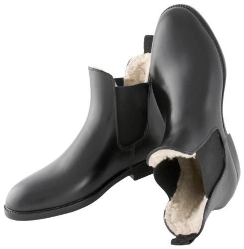 United Sportproducts Germany USG 23343 Paire de bottes d'équitation pour l'hiver avec élastiques, pointure 43 Noir