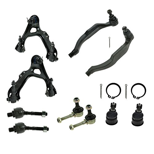 Front Control Arm Ball Joint Tie Rod Suspension Kit Set for 91-95 Acura Legend